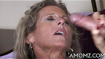 Amazing horny mature lady makes white dude deeply