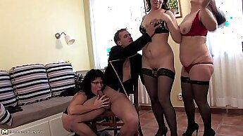 Julie & Jill & Johnny & Brett & John & Luke & Molina & Gina & Jayme & Lance Scotts in my wifey sluts share one dude in threesome
