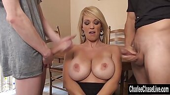 Amazing Cowboy Charlee Chase Wants A Huge Load Of Cum