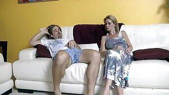 Big breasted stepmom wants her schlong