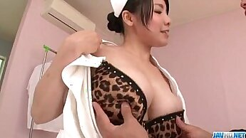Asian hot chick gets her shaved pussy destroyed by hard cock
