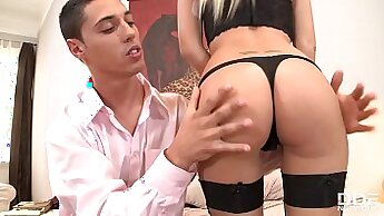 fit lady with big ass is getting fucked by her horny boyfriend