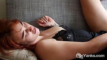 Athiard miliah masturbating her big boobs