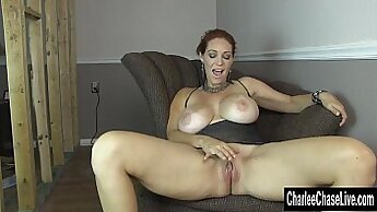 Charlee Chase got her pussy stuffed in hot sex video