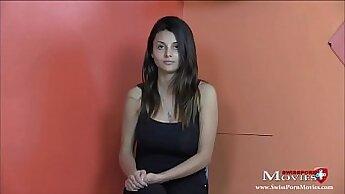 Alyssa casting interview wonderful sex