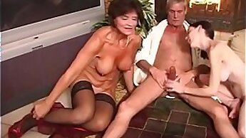 Big tits orgy party Family Competition