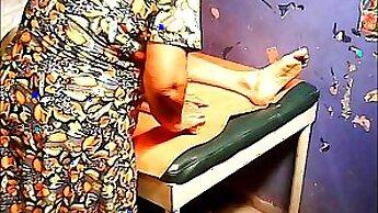 Big tits grandmother Massage receives bonus