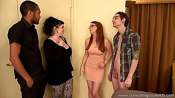 Christmas - Jo\'s husband finishes with a bbc