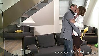 Brunette Mom And Milf Carter Cruise Fucked From Behind